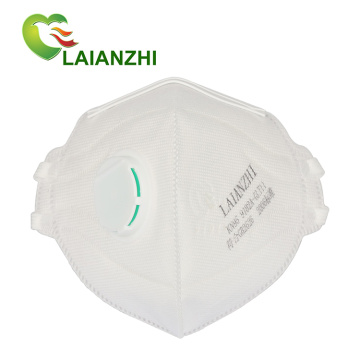 Dust Filtering Disposable Non-woven KN95 4layers Valved Mask