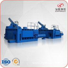 Large Hydraulic Automatic Waste Aluminum Scrap Baler