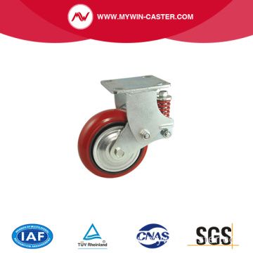 Heavy Duty Spring Shock Absorbing Casters