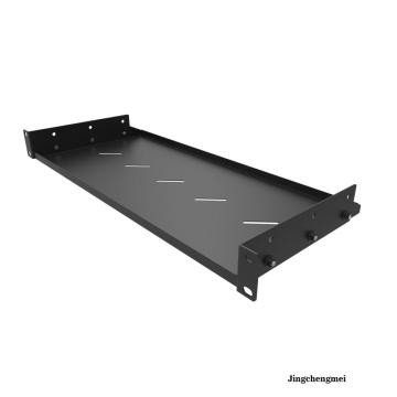 "19 Inch 8""Deep Vented Cantilever Rack Mount Shelf"