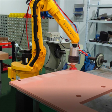 Metal door panel polishing grinding force control system