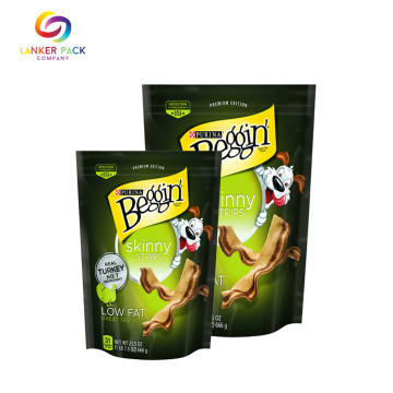 Air-proof Ziplock Stand Up Pouch For Snack