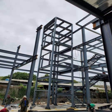 multi-storey prefabricated building steel construction