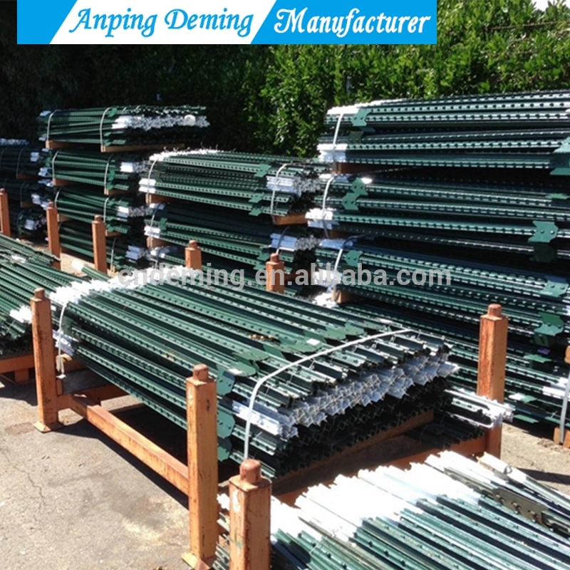 1.8m length metal fencing steel T post