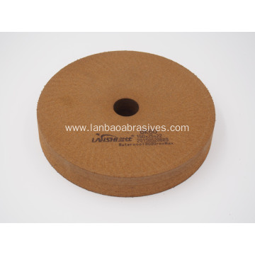 Peripheral BK Polishing wheel on glass machine