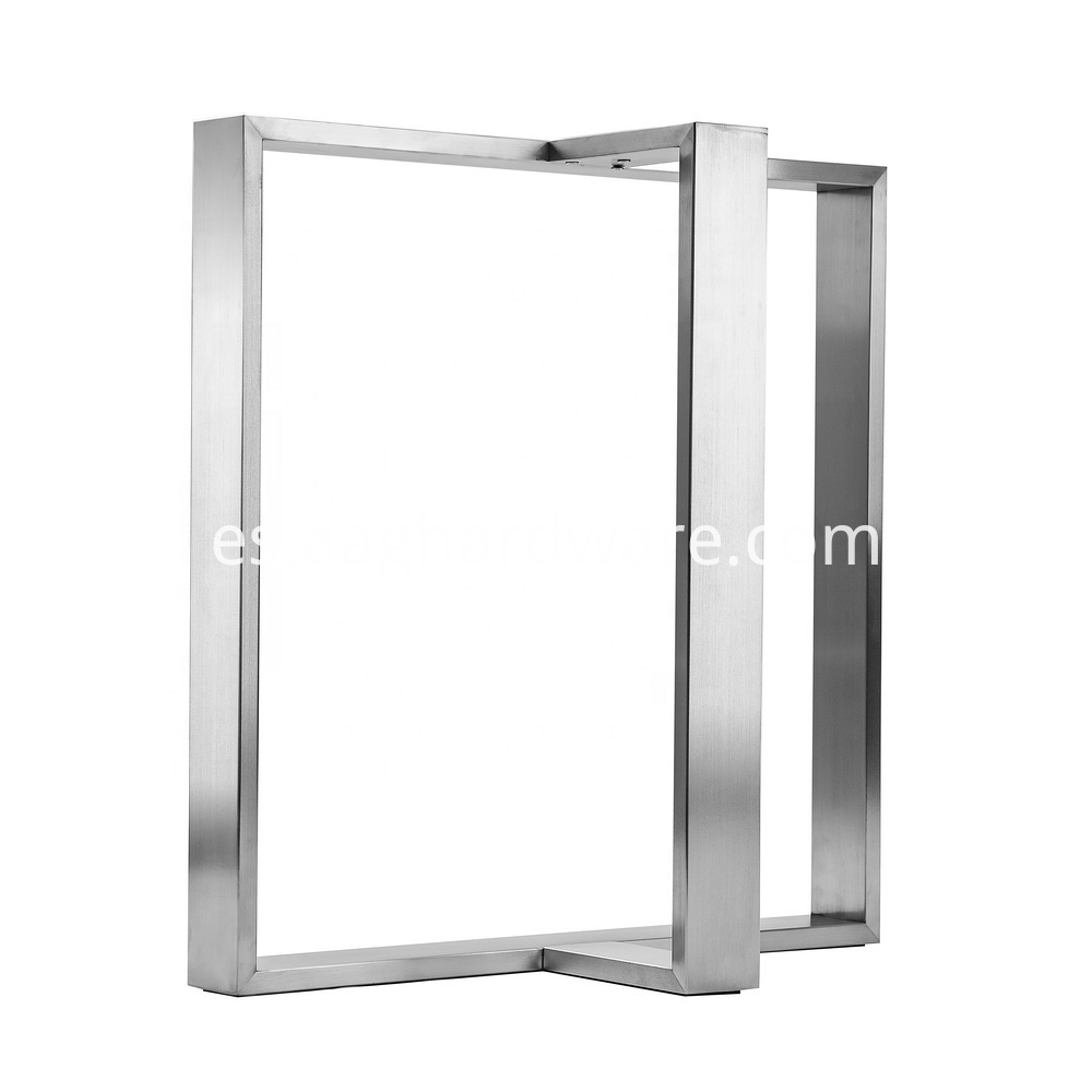 Stainless Steel Table Legs Modern T Shaped 1