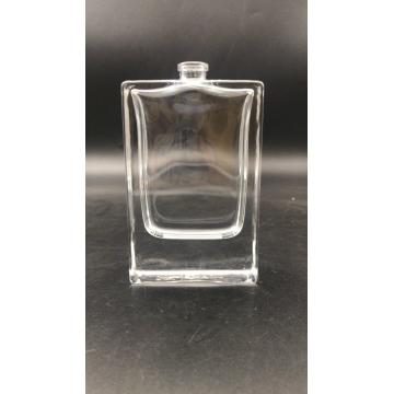 60ml clear square glass bottle for men's perfume