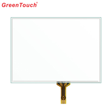 "4.3 "" Quick Working Smooth Flat Touchscreen 4-wire"