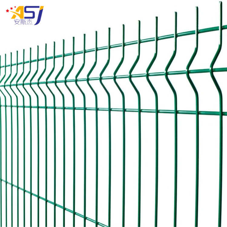 animal protection welded farm fence panels and gate