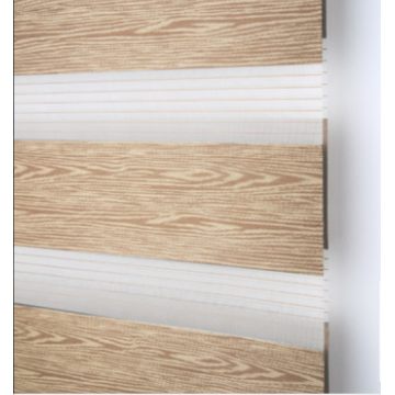 Horizontal Window Shade Roller Zebra Blind Curtain