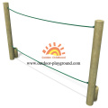 Balancing HPL Playground Park Rope Equipment For Kids