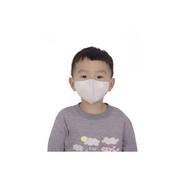 Disposable 3-ply White Non woven Face Mask Kids