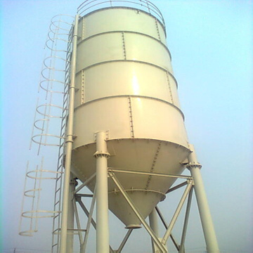 Dust collector 50 ton cement silo construction