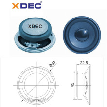 Fullrange 57mm ferrite magnet 4ohm 2w speaker