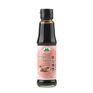 Thick teriyaki sauce is used to cook chicken