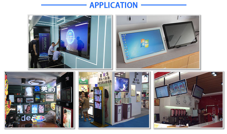 Advertising LCD Display touch