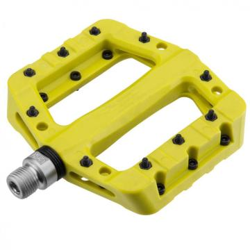 Bike Pedals Nylon Fiber Bicycle Platform PedalsYellow