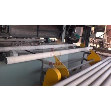 Cutting pipe and grinding pipe equipment