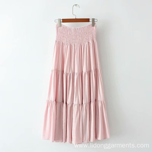 Long Skirt in New Breast-wrapped Cute Dress
