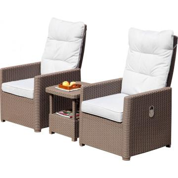 New style recliner sofa set outdoor rattan