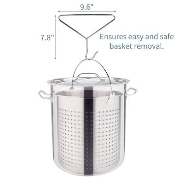 84QT Stainless Steel Stock Pot