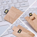 Wood Bamboo Card USB Flash Drive