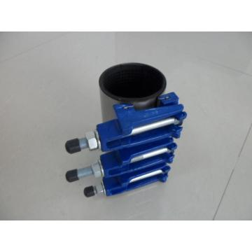 Stainless steel/dcutile iron single band repair clamp