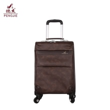 Wholesale High Quality Travel Vintage PU Luggage Bag