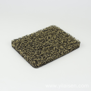 Car mat with safety design coil carpet PVC