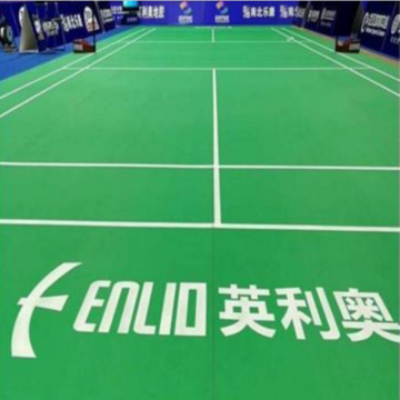 International match level Badminton court mat
