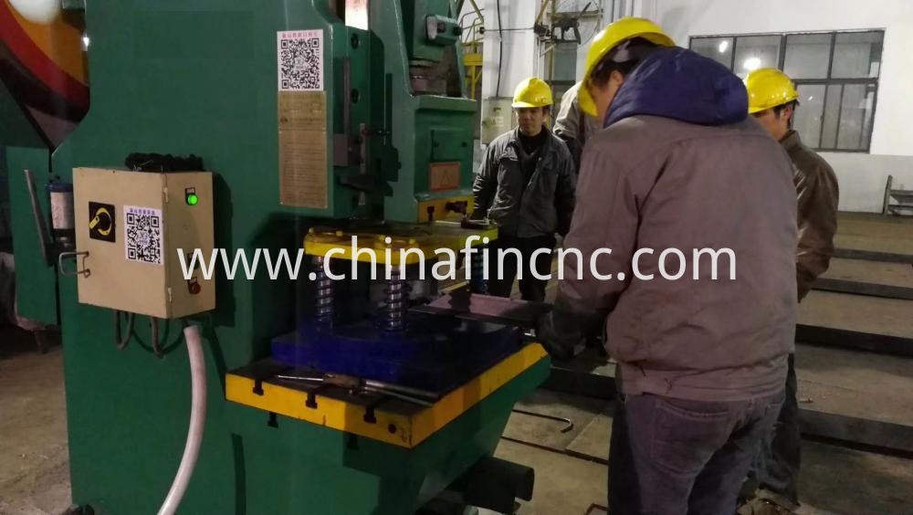 Automatic Angle Punching Machine