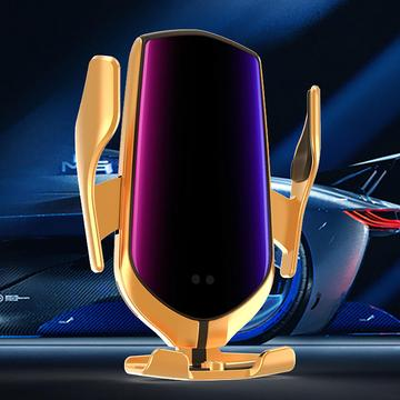 10W Car Qi Wireless Charger Phone Holder for iPhone 11 X XS XR 8 Samsung S9 S10 S20 Charger Stand Fast Wireless Charging