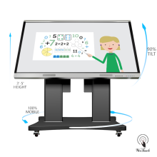 86 Inches Smart Whiteboard With Automatic Stand