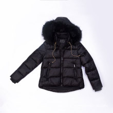 High density nylon Women`s padding jacket