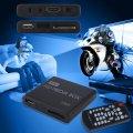 Mini Media Player 1080P Mini HDD Media Box TV box Video Multimedia Player Full HD With SD MMC Card Reader 100Mpbs AU EU US Plug