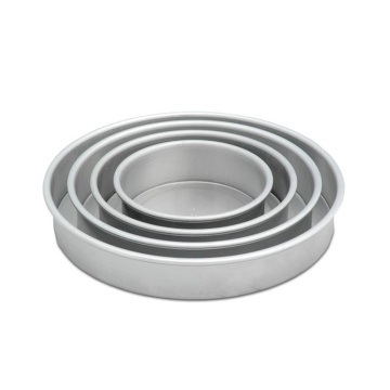 Aluminum Round Baking Moulds