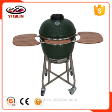 21 inch Green Color Egg Shape Outdoor Fire