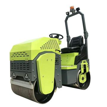 Low price ride-on diesel engine road roller