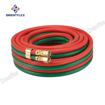 8mm+10mm twin welding oxygen and acetylene rubber hose