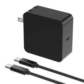 45W 65W Square USB-C Charger Laptop Power Adapter