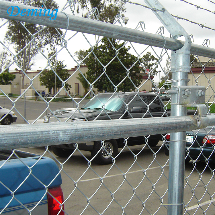 Wholesales Used Price of Black Chain Link Fence