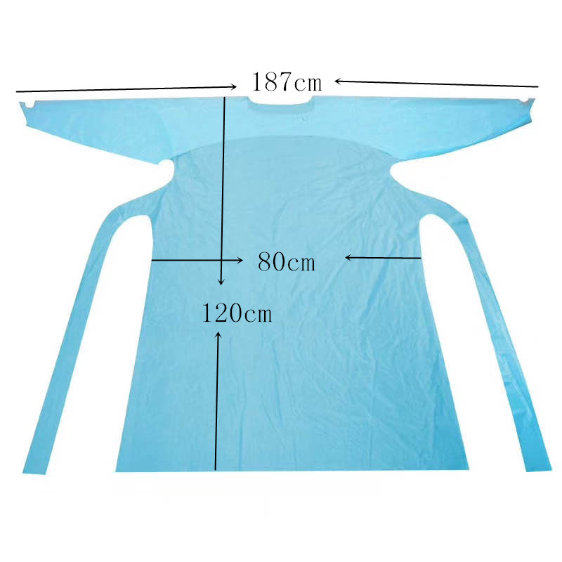 Disposable Apron Size