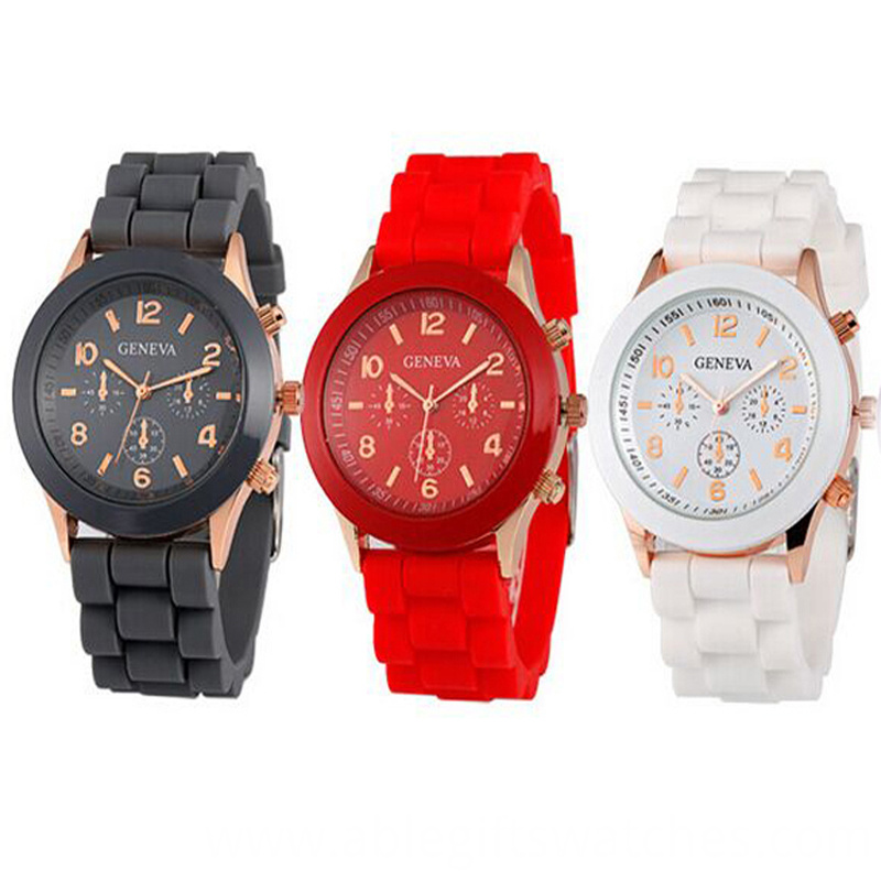 12 color quartz watch