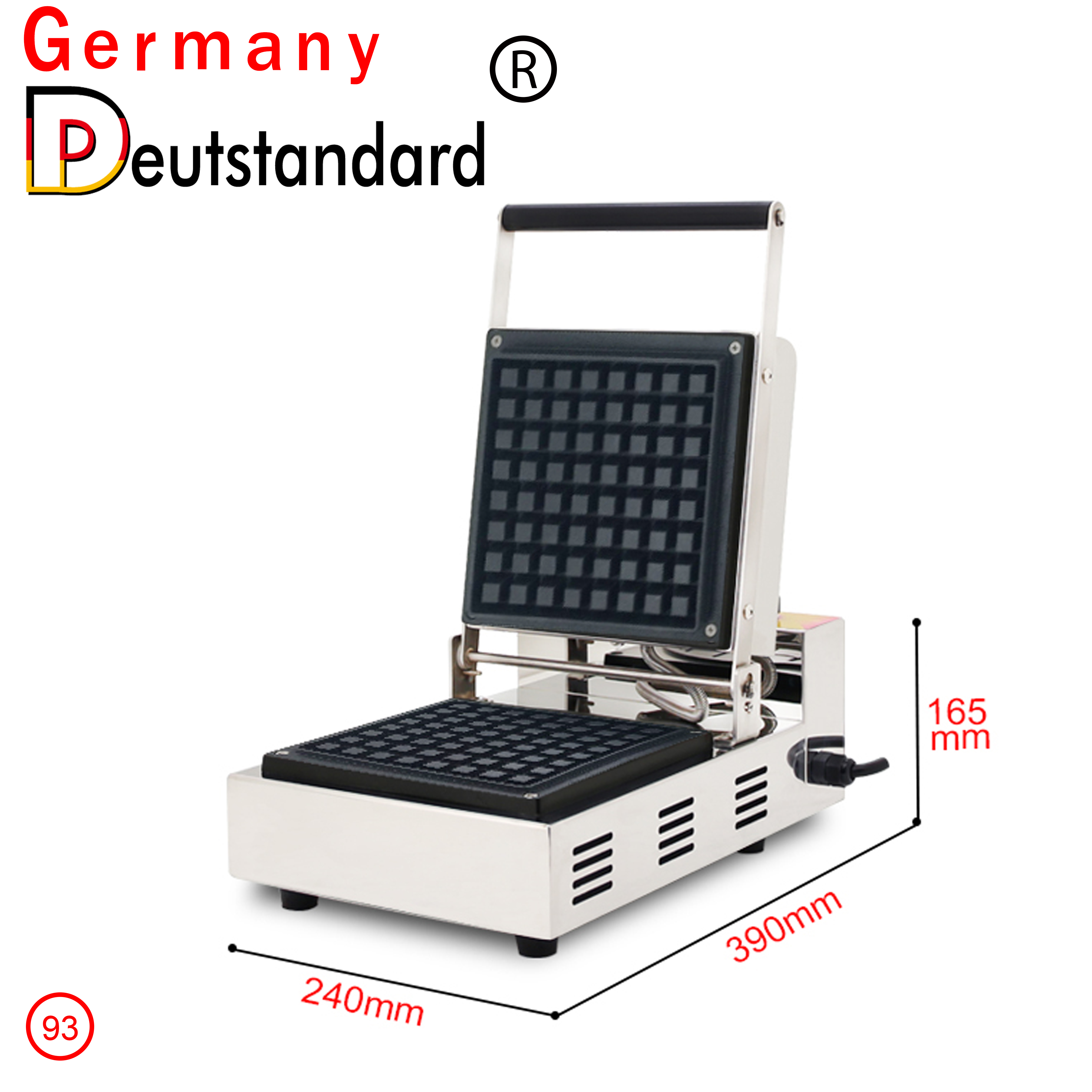 commercial high quality waffle machine