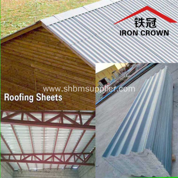 Low-price Anti-moss Ecological Fireproof MgO Roof Tiles