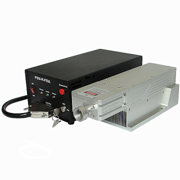 Red Pulsed Laser Source