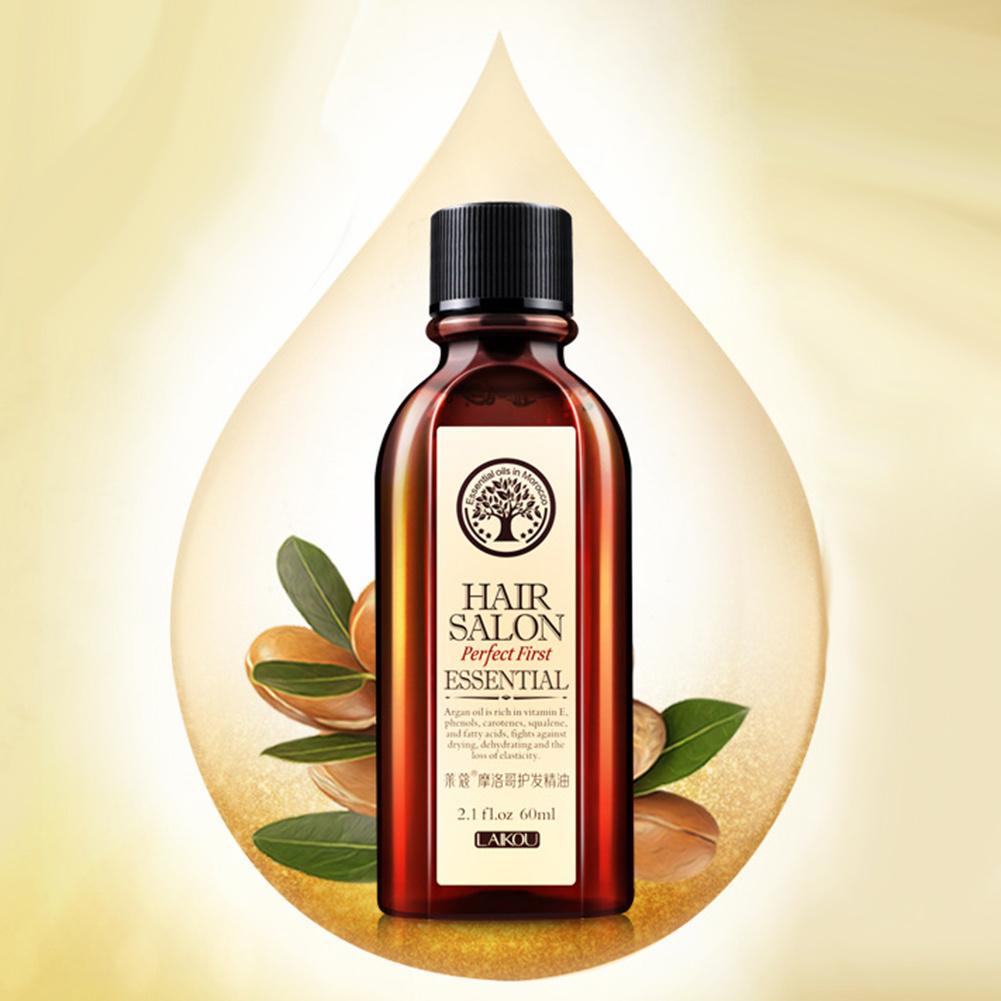 60ml Argan Nourishing Herbal Hair Growth Anti Hair Loss Liquid Promote Thick Fast Hair Growth Essential Oil Health Care