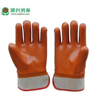 Winter Monkey Grip PVC Gloves
