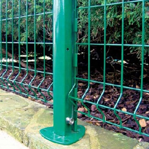 3d curved  garden welded wire mesh fence