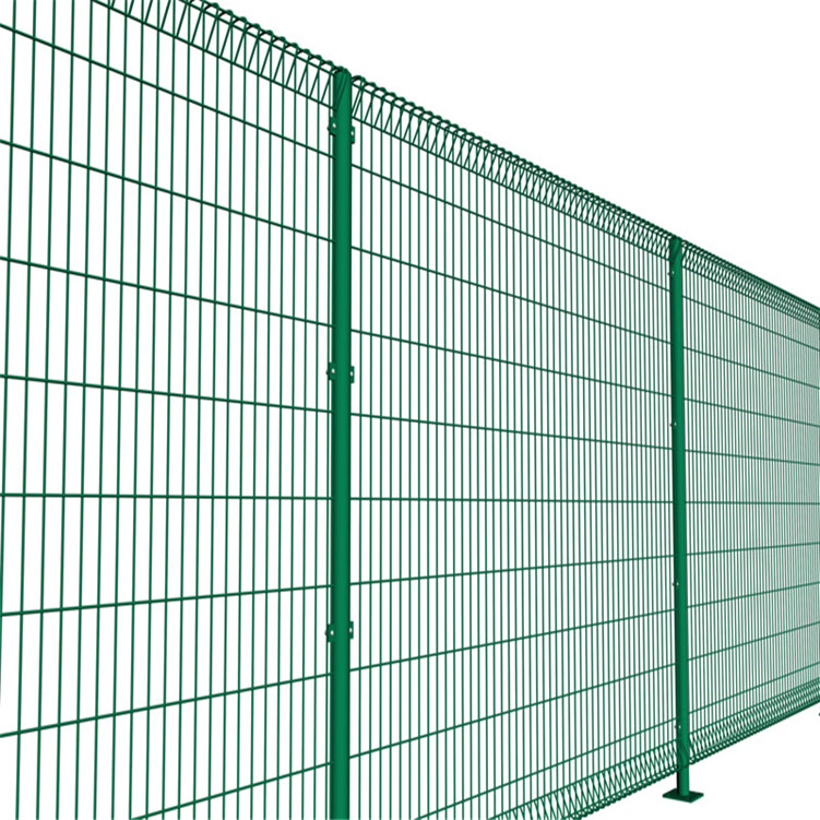 Factory Direct Roll Top PVC Coated BRC Fence
